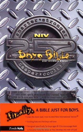 9780310705529: Boys Bible (NIV), The