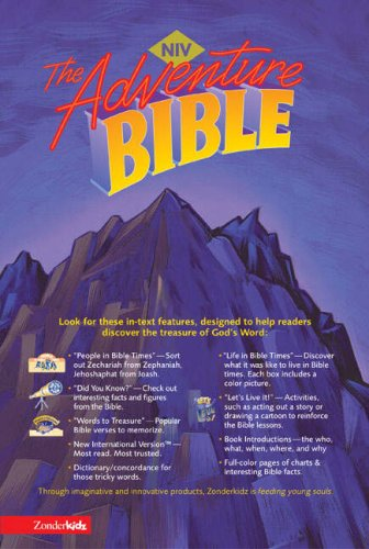 9780310705635: Adventure Bible, Revised, NIV