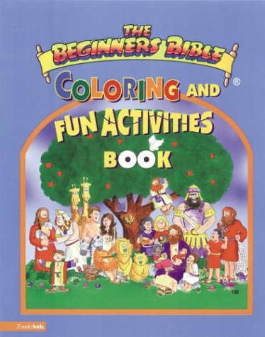 9780310705765: Beginner's Bible(R) with Coloring and Fun Activities Book, The