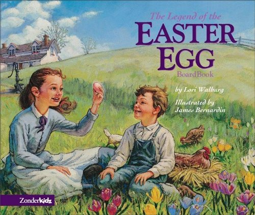 9780310707851: The Legend of the Easter Egg Board Book (Liberty Letters)