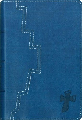9780310708032: Niv Backpack Bible: Blue, Italian Duo-Tone New International Version (In English)