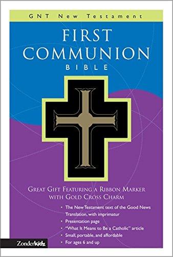 9780310708322: GNT, First Communion Bible: New Testament, Imitation Leather, Black: GNT New Testament (Good News Translation/Children's Bibles)
