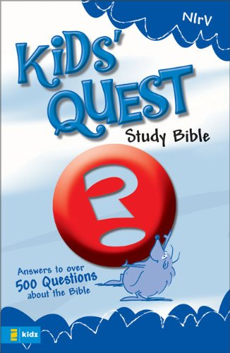 9780310708797: NIrV Kids' Quest Study Bible: Real Questions, Real Answers (New International Readers Version)