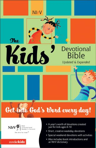9780310712442: The Kids' Devotional Bible