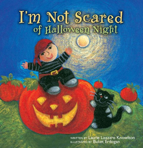 9780310713340: I'm Not Scared of Halloween Night: Glow in the Dark Pumpkin