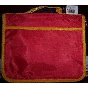 9780310716273: Red & Yellow Nylon Bible Cover Medium