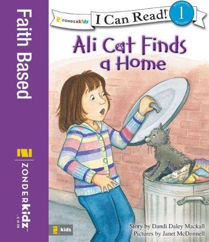9780310717003: Ali Cat Finds a Home (I Can Read!/Ali Cat Series)