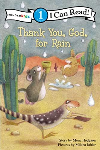 9780310717416: THANK YOU GOD FOR RAIN (Desert Critters Series)