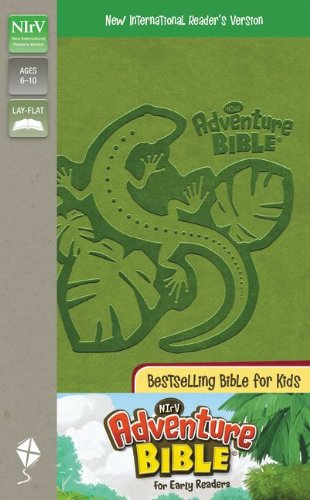 9780310718635: NIrV, Adventure Bible for Early Readers, Imitation Leather, Green