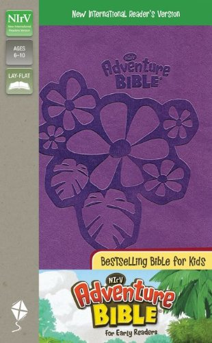 9780310718970: NIrV, Adventure Bible for Early Readers, Imitation Leather, Purple