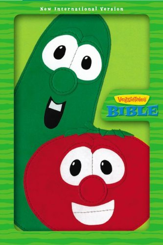9780310719090: NIV, The VeggieTales Bible, Imitation Leather, Green/Red (Big Idea Books)