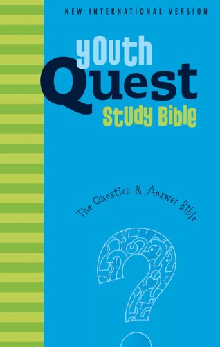 NIV, Youth Quest Study Bible, Hardcover: The Question and Answer Bible (9780310719823) by Zondervan