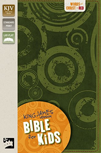 9780310719984: KJV, Bible for Kids, Imitation Leather, Green