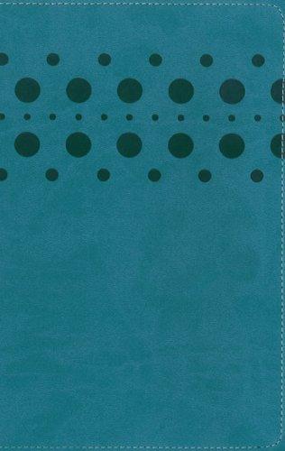 NIrV, Holy Bible, Large Print, Imitation Leather, Turquoise: Zondervan