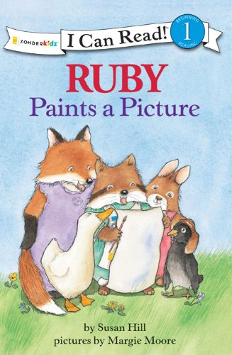 9780310720232: Ruby Paints a Picture (I Can Read! / Ruby Raccoon)