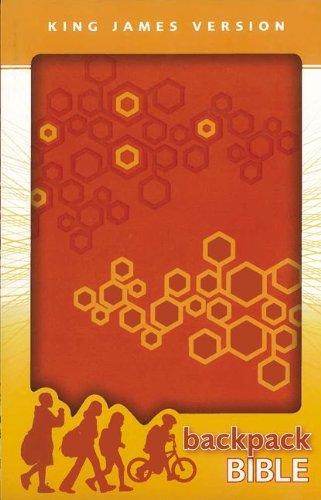 9780310720621: KJV, Backpack Bible, Imitation Leather, Orange