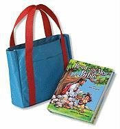 9780310721116: Read with Me Bible/Tote Pack