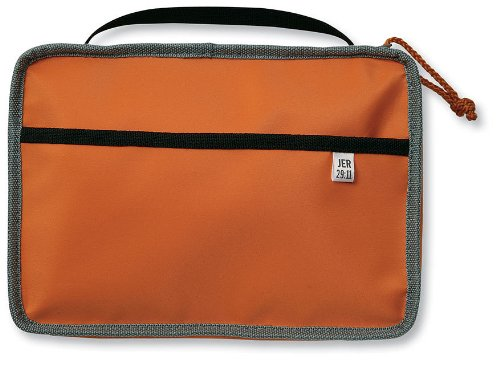 9780310721208: Reversible Cover Orange/Gray Large