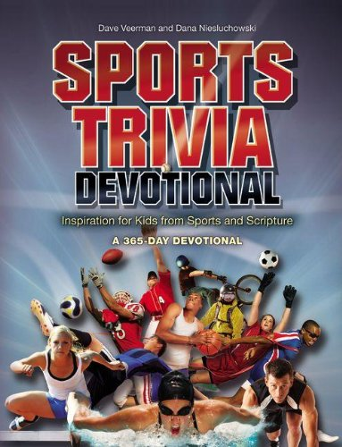 9780310721857: Sports Trivia Devotional: Inspiration for Kids from Sports and Scripture