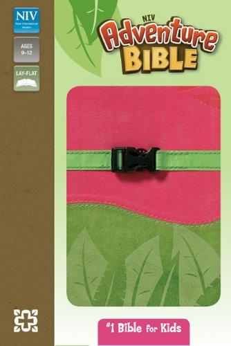 9780310722014: NIV, Adventure Bible, Imitation Leather, Pink/Green