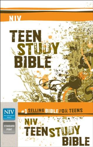 9780310722519: NIV, Teen Study Bible, Paperback