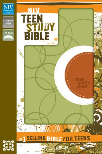 9780310722526: NIV, Teen Study Bible, Imitation Leather, Green