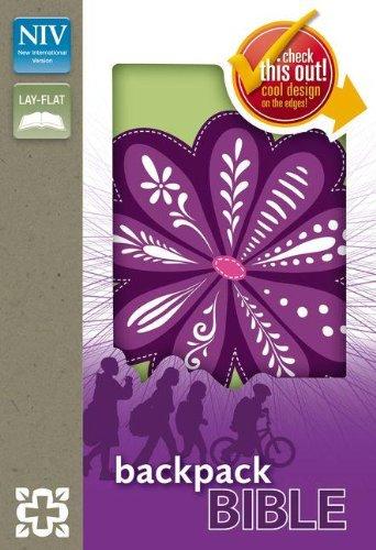 9780310723431: NIV, Backpack Bible, Imitation Leather, Purple, Red Letter