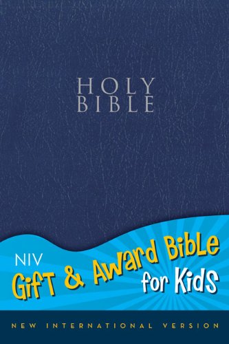 9780310725558: NIV, Gift and Award Bible for Kids, Imitation Leather, Navy, Red Letter