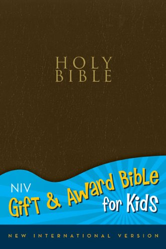 9780310725565: NIV, Gift and Award Bible for Kids, Imitation Leather, Blue, Red Letter