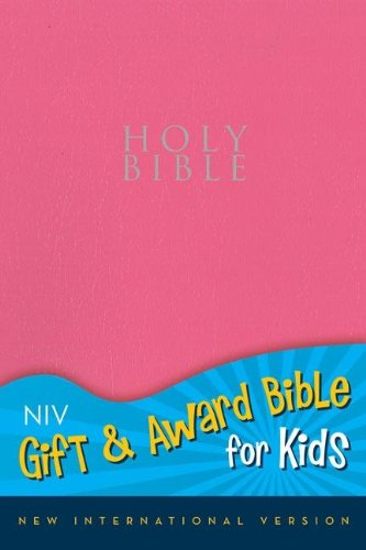9780310725572: NIV, Gift and Award Bible for Kids, Imitation Leather, Pink, Red Letter
