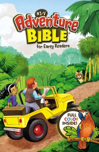 9780310727460: NIrV, Adventure Bible for Early Readers, Leathersoft, Green, Full Color
