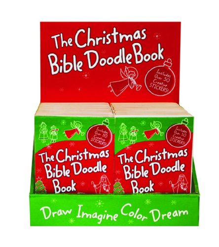 9780310728368: Christmas Bible Doodle Book Display: Pocket-Sized Edition