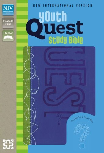 9780310728801: NIV Youth Quest Study Bible: The Question and Answer Bible