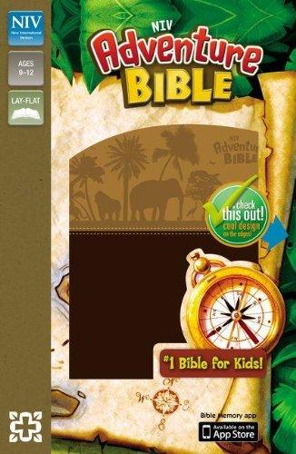 NIV, Adventure Bible, Imitation Leather, Brown (9780310729143) by Lawrence O. Richards