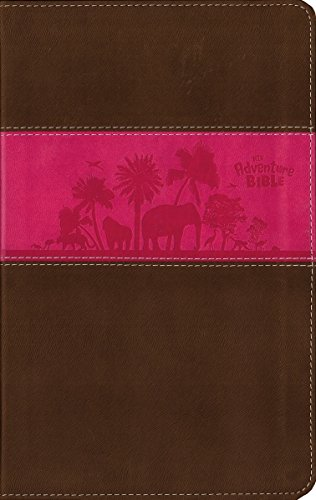 9780310729709: NIV, Adventure Bible, Imitation Leather, Pink/Brown, Full Color