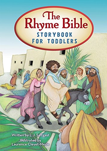 9780310730163: The Rhyme Bible Storybook for Toddlers