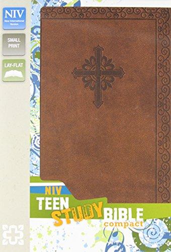 9780310731719: NIV, Teen Study Bible, Compact, Imitation Leather, Brown