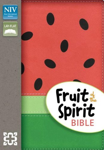 NIV, Fruit of the Spirit Bible, Imitation Leather, Red/Green, Red Letter (9780310733317) by Zondervan