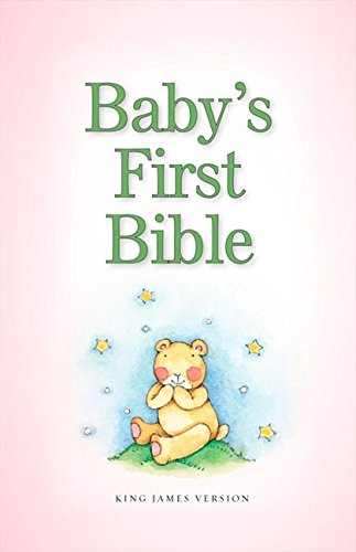 9780310736356: KJV, Baby's First Bible, Hardcover, Pink