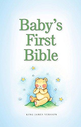 9780310736363: KJV, Baby's First Bible, Hardcover, Blue