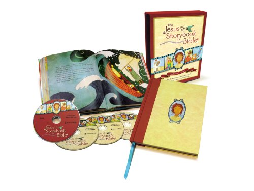 The Jesus Storybook Bible Collector's Edition: With Audio CDs and DVDs (Hardcover): Sally ...