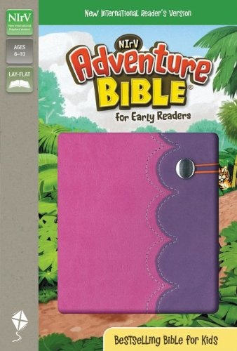 9780310739258: NIrV, Adventure Bible for Early Readers, Imitation Leather, Pink/Purple