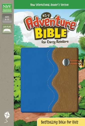 9780310739265: NIrV, Adventure Bible for Early Readers, Imitation Leather, Blue/Tan