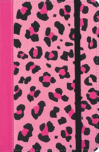 9780310742289: NIV, Animal Print Collection Bible: Leopard, Imitation Leather, Pink/Black