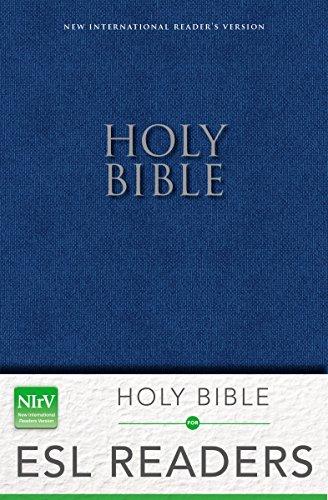 9780310743842: NIrV, Holy Bible: for ESL Readers, Paperback, Blue
