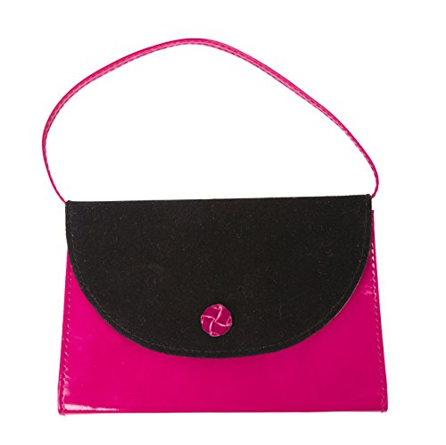 NIrV, My Purse Bible, Imitation Leather, Pink/Black: Zondervan
