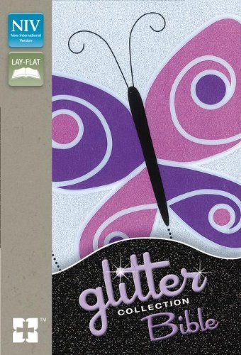 9780310744788: NIV, Glitter Bible Collection, Imitation Leather, Purple