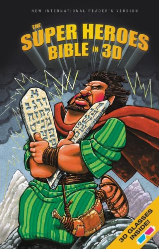 9780310745983: NIrV, The Super Heroes Bible in 3D, Hardcover