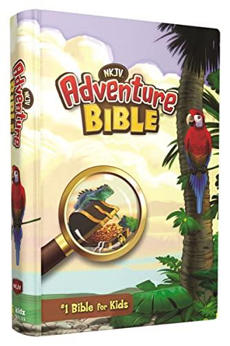 9780310746263: NKJV, Adventure Bible, Hardcover, Full Color