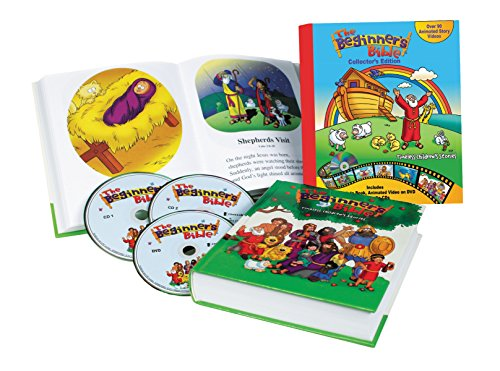9780310747345: Beginner's Bible Collector's Edition: Timeless Children's Stories; With Audio CDs and DVDs (The Beginner's Bible)